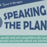 Speaking 4 the Planet announcement